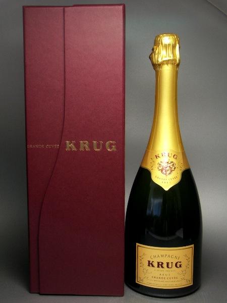 クリュッグ グラン・キュヴェ 750ml 【箱入】 (*MHD638299) (ワイン) 【ラッキーシール対応】