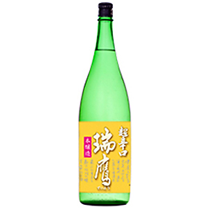 辛口がお好きな日本酒通の方に ぜひおすすめしたい 瑞鷹 ずいよう 本醸造 超辛口 1.8L×6本セット 熊本 北海道 新着 クール便は+700円 沖縄は送料1000円 入手困難 清酒 送料無料 日本酒 1800ml