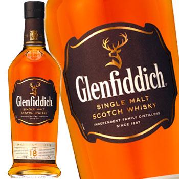 グレンフィディック18年 スモールバッチリザーブ 700ml YGF18S [シングルモルト・ウイスキー]【ラッキーシール対応】