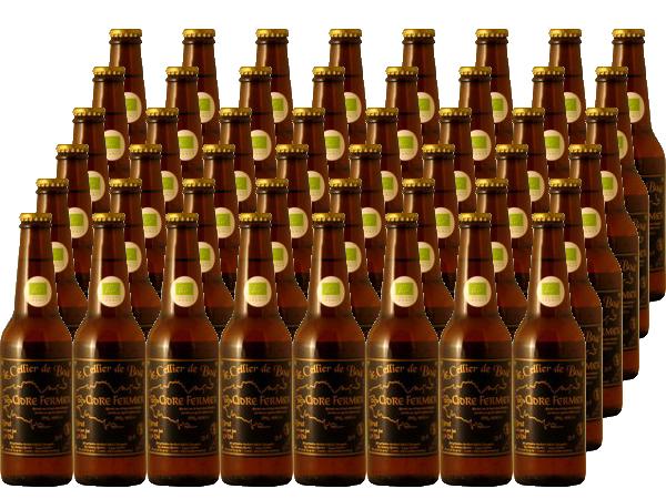 ル・セリエ・ド・ボール シードル・フェルミエ プチ ブリュット 330ml×48本セット (ワイン) 【ラッキーシール対応】