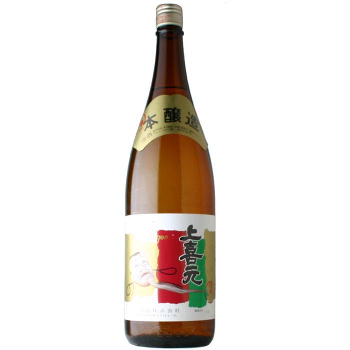 【日本酒】上喜元 上撰 本醸造 1800ml