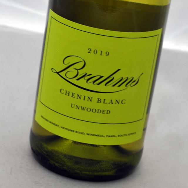 天才女性弁護士が造るワイン シュナン ブラン アンウッド 2019 ブラハム白ワイン 春の新作シューズ満載 unwoods 送料無料新品 パール Chenin 南アフリカ Blanc Brahms