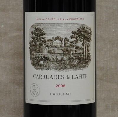 カリュアド ラフィット ロートシルト[2008]Carruade Lafite Rothchild [2008]【赤ワイン・ボルドー】