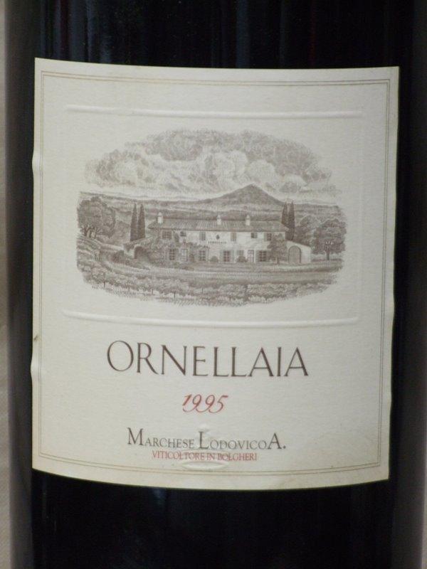 オルネッライア [1995] (1500ml) Ornellaia [1995] (1500ml) wood box【赤ワイン・イタリア・マグナム】