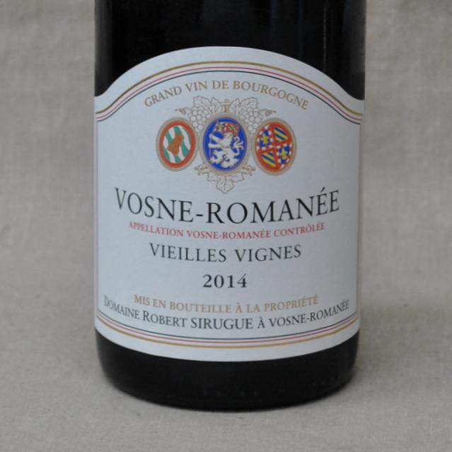 ドメーヌ・ロベール・シルグ ボーヌ・ロマネ V・V[2014]Domaine Robert Sirugue&Ses Enfants Vosne Romanee V.V[2014]【赤ワイン・フランス】