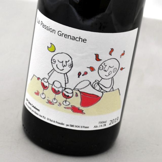 この価格でこの味わいにびっくり仰天 ラ スピード対応 全国送料無料 パッション グルナッシュ 2019 新作 人気 Passion Grenache 赤ワインLa ルーション フランス