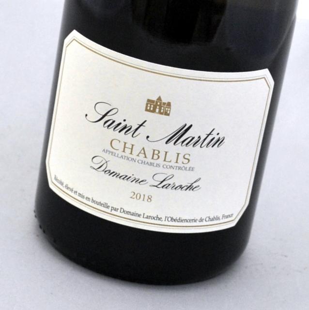 Seasonal Wrap入荷 シャブリ 受注生産品 サン マルタン 2018 ドメーヌ フランスChablis Saint ラロッシュ白ワイン MartinDomaine Laroche