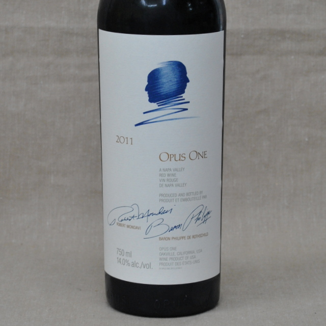オーパス・ワン[2011]  Opus One[2011]【赤ワイン・カリフォルニア】