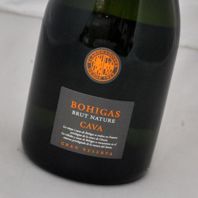 品質がいい評判のスペイン カバ 爆買い新作 ボイーガス ブリュット ナトゥーレ グラン レゼルバ NV Nature お気に入 Brut Reserva CAVA スパークリングワイン カヴァ Bohigas Gran