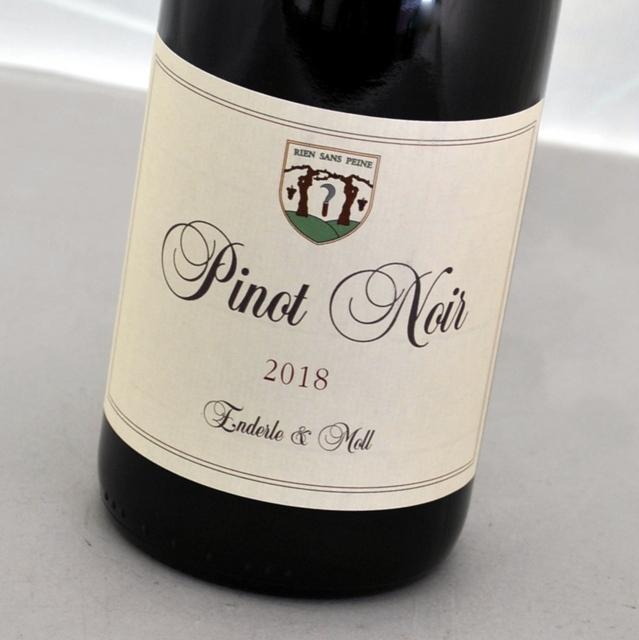 ピノ 市場 ノワール バーシス 2018 エンデルレ ドイツPinot ウント 限定タイムセール Noir-BasisEnderleMoll モル赤ワイン バーデン