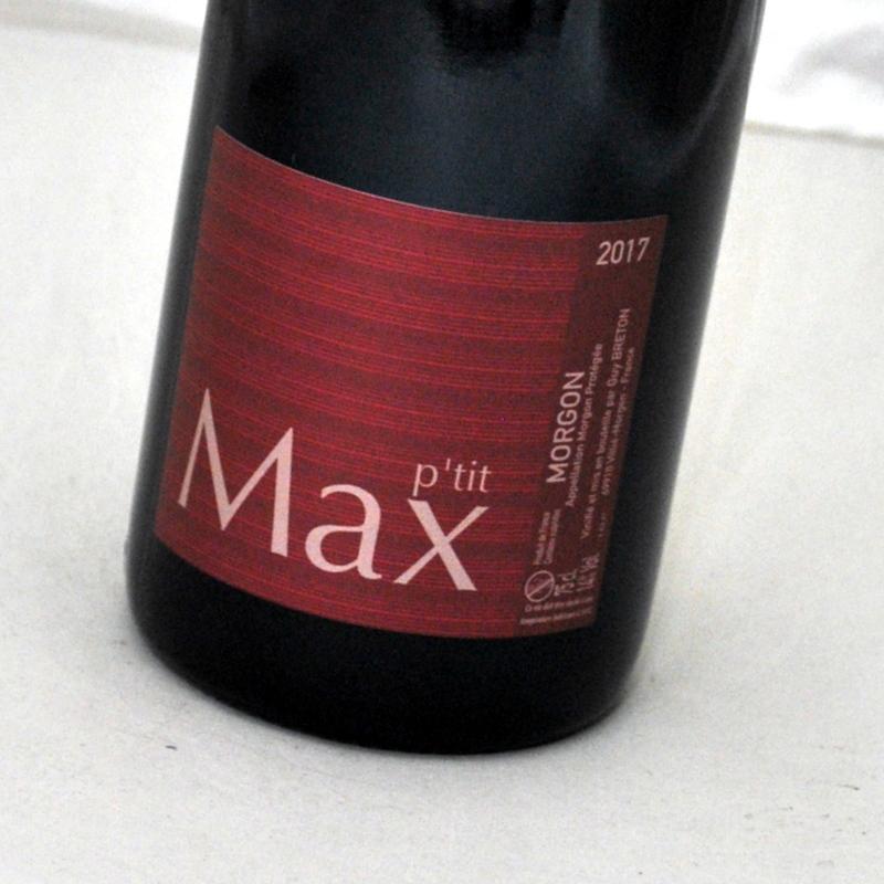 モルゴン プティ ブランド品 マックス 2017 ギィ ブルトン赤ワイン 訳あり フランスMorgon Breton P'tit ボージョレ MaxGuy