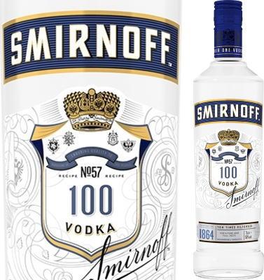 スミノフ・ブルー ウオッカ 50度 750ml 【正規品】   Smirnoff