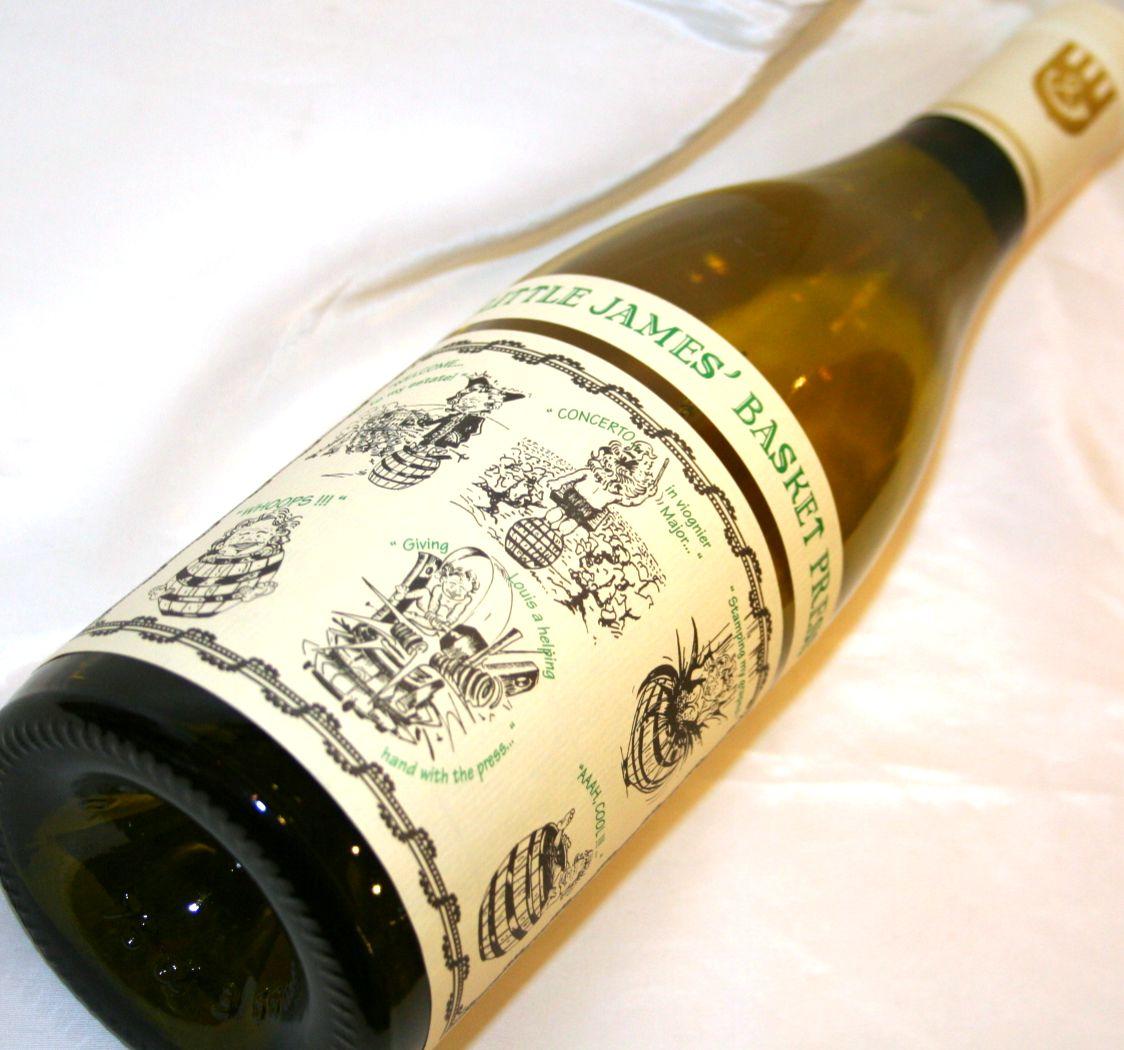 サンコムリトル・ジェームス・バスケット・プレス[白ワイン]  750ml
