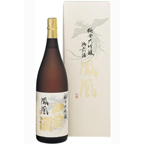 純米大吟醸 鳳凰(化粧箱入り) 1800ml和食や珍味、日本の味覚と相性抜群 プロがお届けする地酒・日本酒。還暦祝いや父の日、開店祝い、パーティー宴会への手土産などにオススメ♪