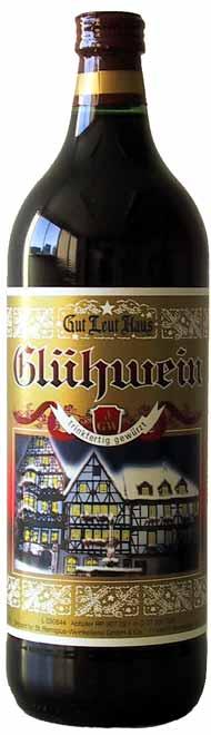 【全品P5倍★11日1:59迄】【 6本セット】【ドイツワイン】 グートロイトハウス・グリューワインGut Leut Haus Gluhwein1000cc×12本