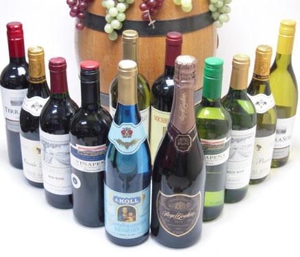 【全品P5倍★11日1:59迄】某テレビであのドンペリに勝ったワインロジャーグラートが入った高品質12本福袋ワインセット(赤5本、白6本、ロジャーグラート)