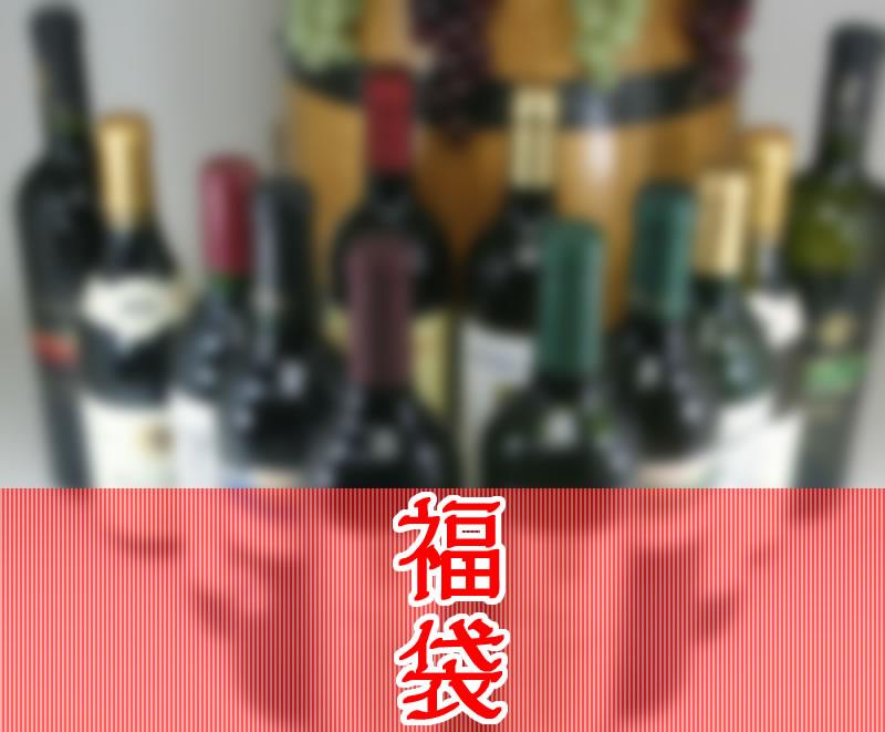 【第22弾】 お楽しみ福袋!こんなセットが欲しかった高品質赤ワイン12本ワインセット