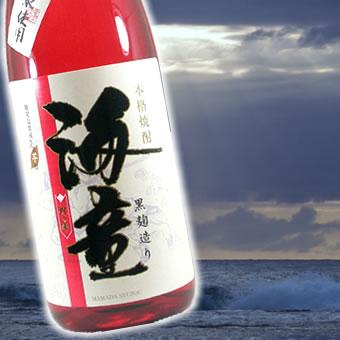 【 6本セット】濱田酒造 芋焼酎 祝の赤 黒麹造り海童  1800ml