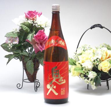 【 6本セット】田崎酒造  炭火焼き芋焼酎 鬼火(おにび)1800ml
