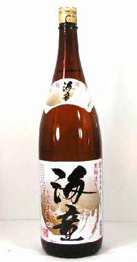 【 6本セット】濱田酒造 芋焼酎 黒麹造り海童 1800ml