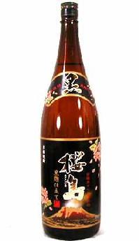 【 6本セット】本坊酒造 南薩摩産さつま芋仕込 黒麹仕立て 桜島 1800ml