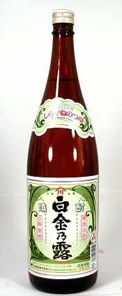 【 6本セット】白金酒造 芋焼酎 白金の露 1800ml