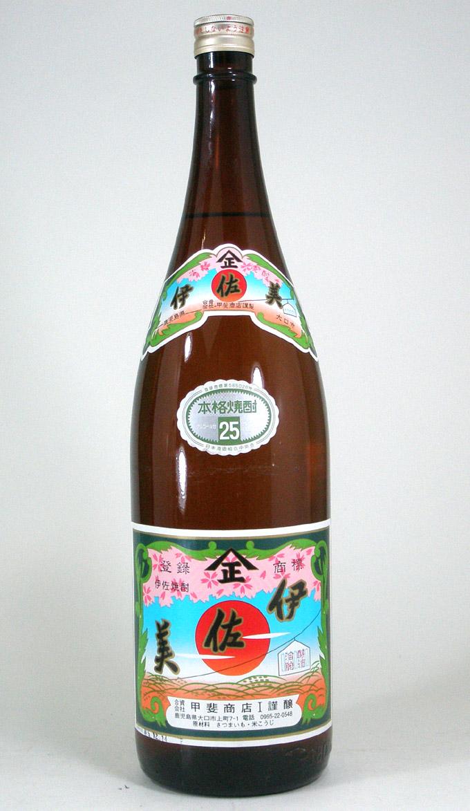 【 6本セット】甲斐商店謹製 芋焼酎 伊佐美 25度 1800ml