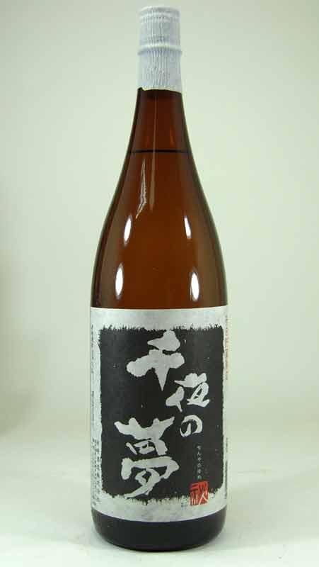 【 6本セット】田崎酒造 芋焼酎 千日貯蔵熟成 千夜の夢 1800ml