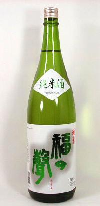 【 6本セット】福井酒造 福の声 純米酒 1800ml×6本 [三重県]