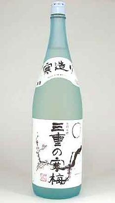 【 6本セット】丸彦酒造 三重の寒梅 吟醸 1800ml ×6本[三重県]