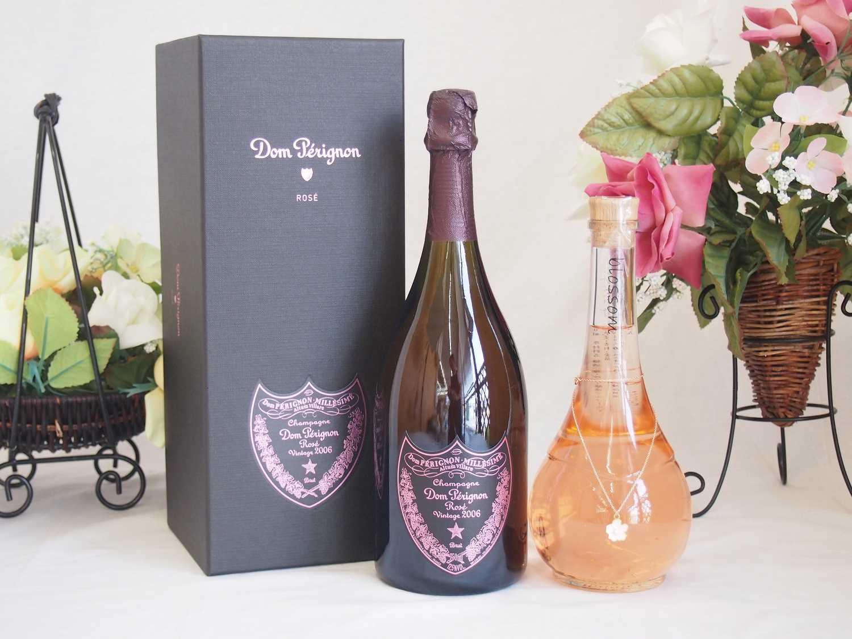 正規ピンクのドンペリと中野BC Blossom ブロッサムさくら梅酒 500ml 2本セット