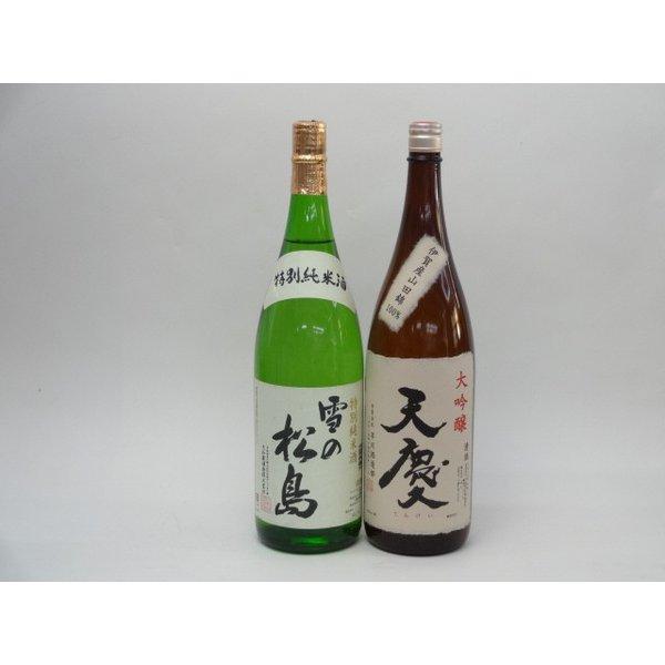 特選日本酒セット 雪の松島 天慶 2本セット 雪の松島(特別純米) 天慶(大吟醸) 1800ml×2本 2本セット 大和蔵酒造
