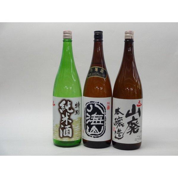 特選日本酒セット 八海山 天一(三重)スペシャル3本セット(吟醸)(純米 山廃本醸造)1800ml×3本