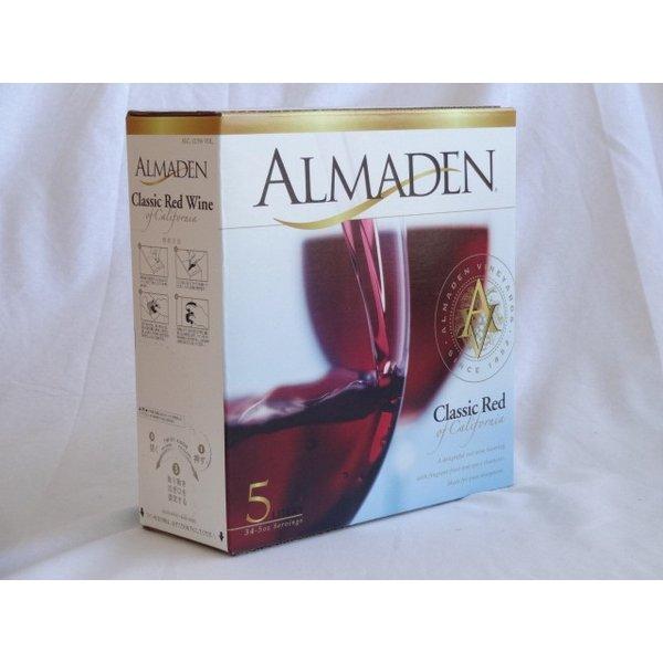 ワインセット 4本セット カリフォルニア大容量赤ワイン(アルマデン クラシック カリフォルニア レッド ミディアムボディ 500