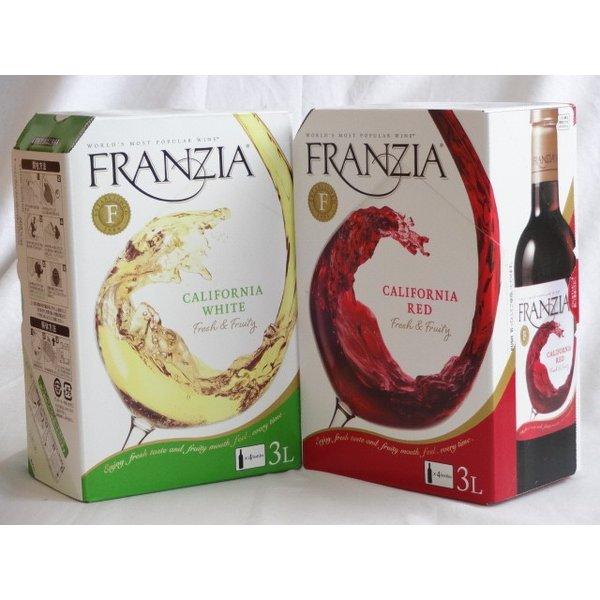 ワインセット 4セット カリフォルニア大容量飲み比べセット(フランジア カリフォルニア ホワイト 白ワイン やや辛口 3000m