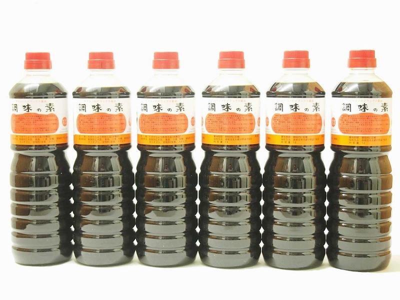 調味の素カツオだし入 ヤマコノのデラックス醤油 味噌平醸造(岐阜県)ペット 1000ml×6