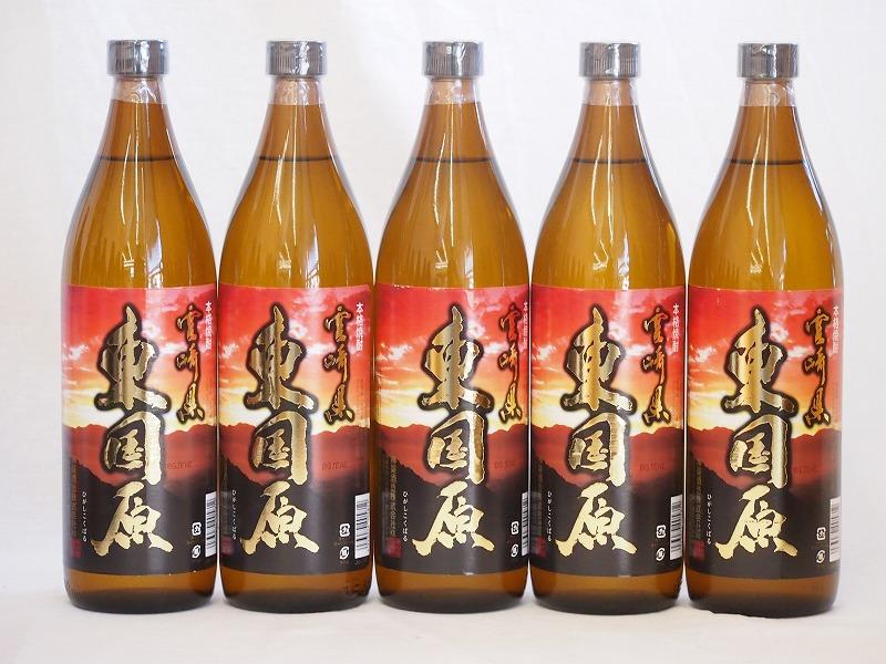 本格芋焼酎 東国原 25度 神楽酒造(鹿児島県)900ml×11本