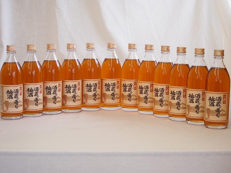 大分県大山産の梅 八鹿の蔵元で造った梅酒(大分県)500ml×12本