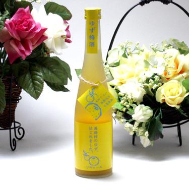 6本セット 篠崎 高知県の馬路村のゆず果汁を贅沢使用 ゆず梅酒はじめました。 500ml×6本