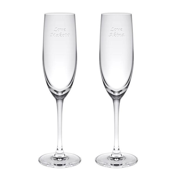 贈り物ギフトセット ギフトレリーフセット パローネ シャンパーニュペア レリーフグラス