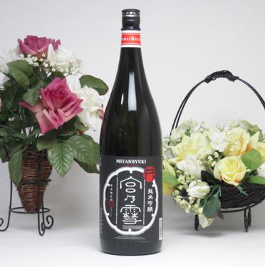 【 6本セット】宮崎本店 宮の雪 純米吟醸 1800ml×6本[三重県]