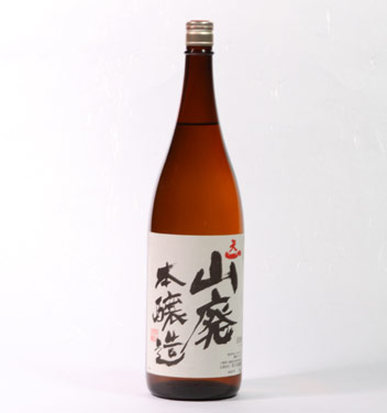 【 6本セット】早川酒造 山廃本醸造  1800ml×6本 [三重県]