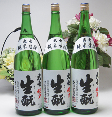 【 6本セット】大七酒造 大七 生もと 純米酒 1800ml×6本(福島県)