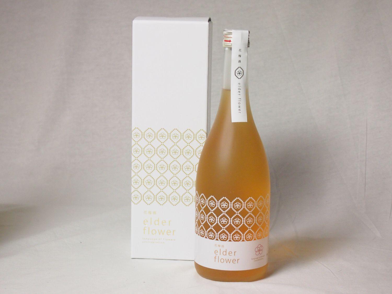 気品み満ち溢れた梅酒 花梅酒~elder flower~ 12度 720ml×5本