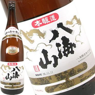 【 6本セット】八海醸造 八海山 本醸造 1800ml×6本(日本酒)