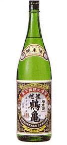 【 6本セット】上原酒造 越後鶴亀 純米酒 1800ml×6本