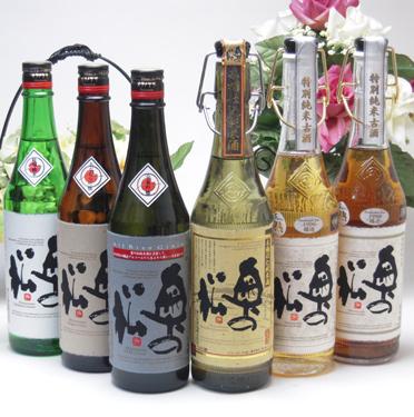 【 6本セット】奥の松酒造 贅沢な日本酒スペシャル6本セット (特別純米・吟醸・全米吟醸・古酒1988年1996年・木桶純米)720ml×6本 [福島県]