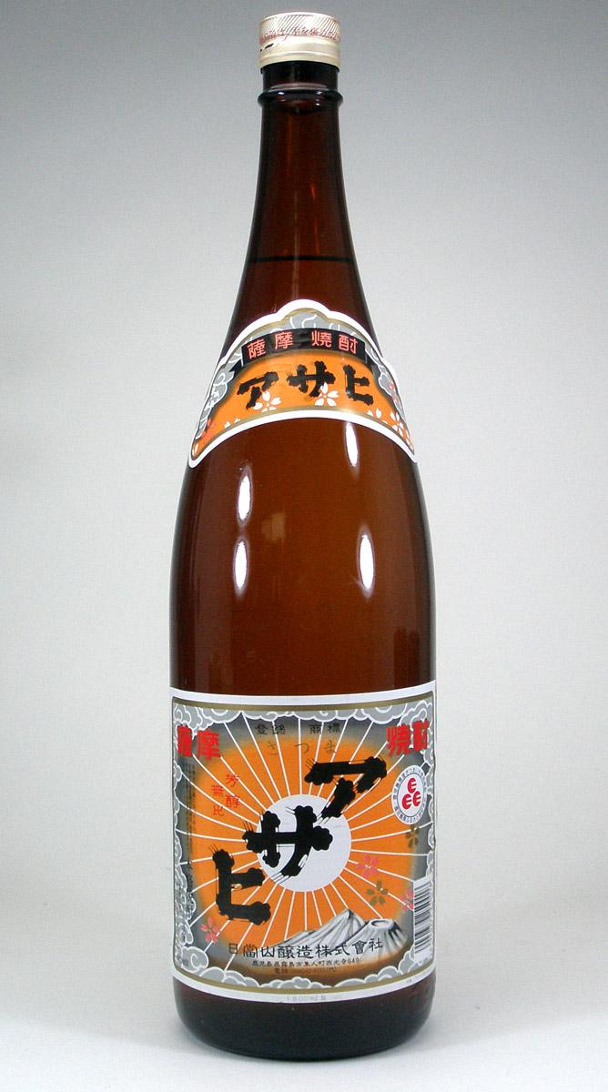 【 6本セット】 日當山醸造 アサヒ 芋焼酎 25度 1800ml