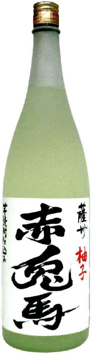 あの人気芋焼酎【赤兎馬】の柚子酒です! 【画像は1800mlです。】 【あす楽】赤兎馬 ゆず酒 14度720ml