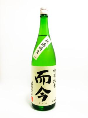 而今(じこん)特別純米 無濾過生 1800ml【2021年3月~詰】